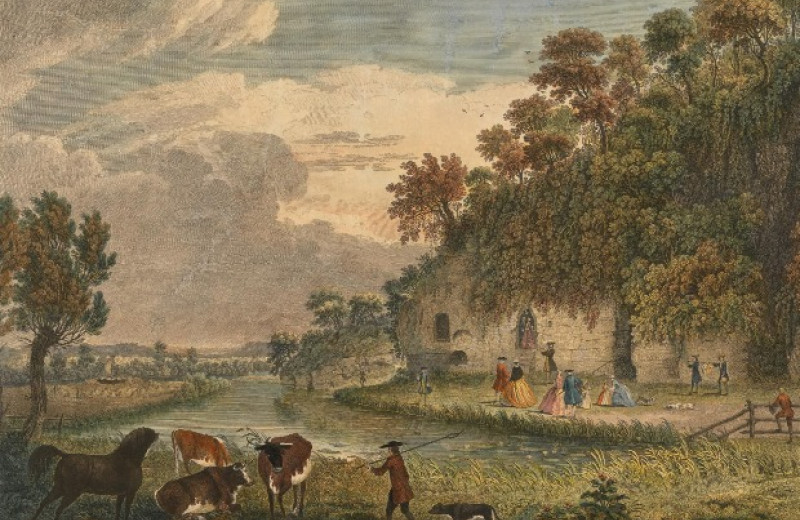 Британские пещеры Анкор Черч оказались раннесредневековой кельей