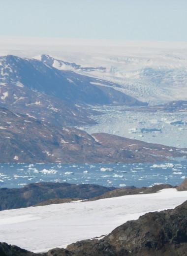 Ледники наполняют реки Гренландии ртутью