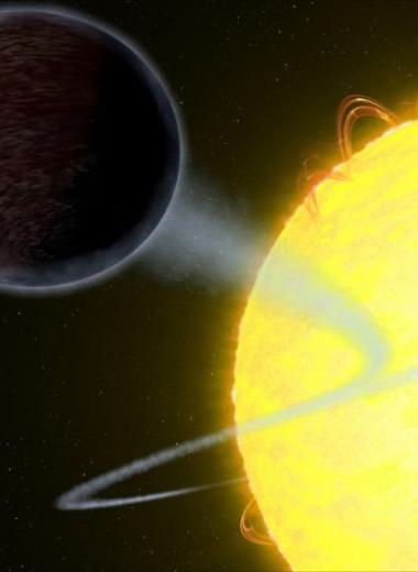 Одна из самых черных планет в нашей Галактике погибнет быстрее, чем ожидалось
