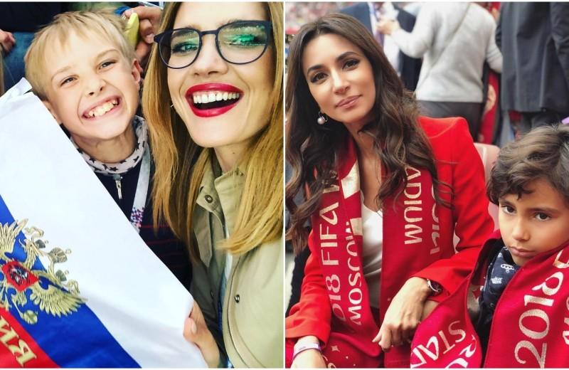 Наталья Водянова с детьми, Зара и множество других звезд на открытии ЧМ-2018