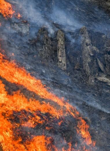Лесопожарная обстановка в России