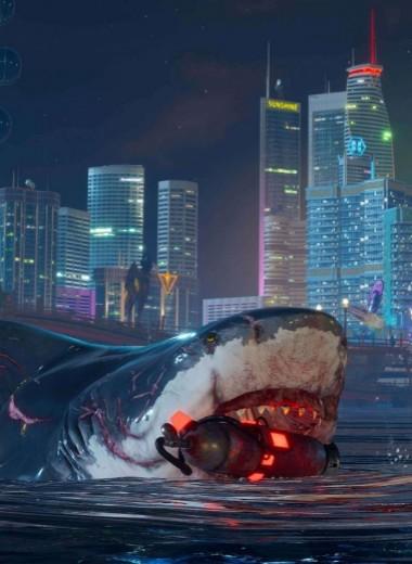 В игре Maneater нужно быть акулой, жрать отдыхающих и развивать свои акульи навыки
