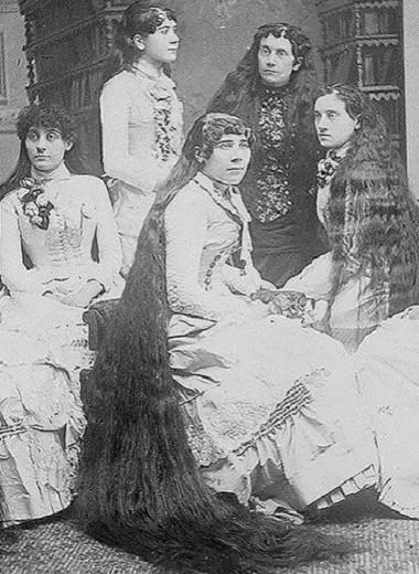 Настоящие Рапунцели: взлет и падение длинноволосых сестер Сазерлэнд