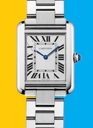 Как Cartier Tank стали культовыми часами, которые носят уже 100 лет