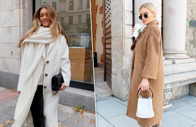 С высокими сапогами и поясом: 8 самых модных способов носить пальто осенью-2020