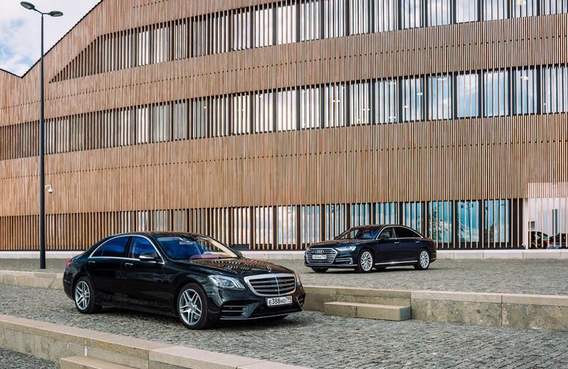 Что-то вечно. Mercedes-Benz S-class против Audi A8