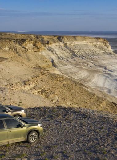 Неземные пространства: путешествие на плато Устюрт