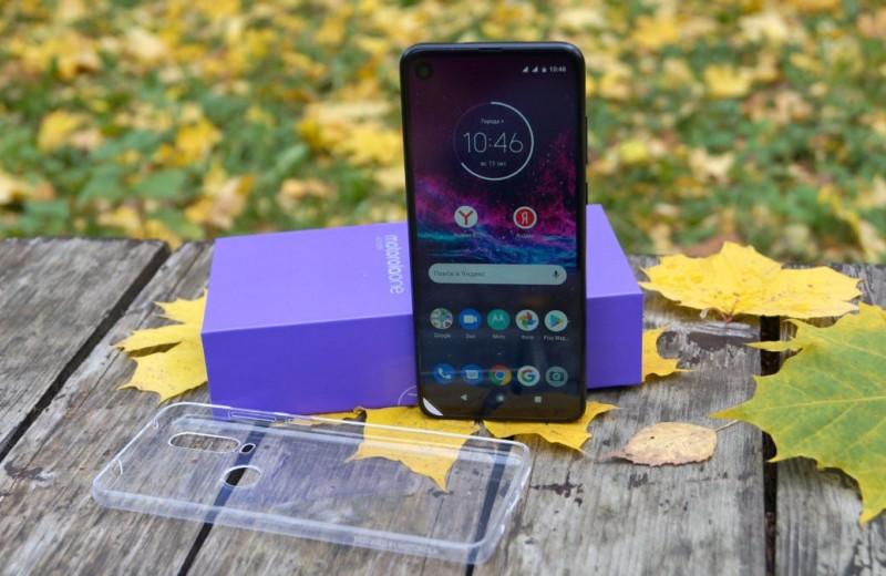 Тест Motorola One Action: смартфон и 4K экшн-камера в одном устройстве