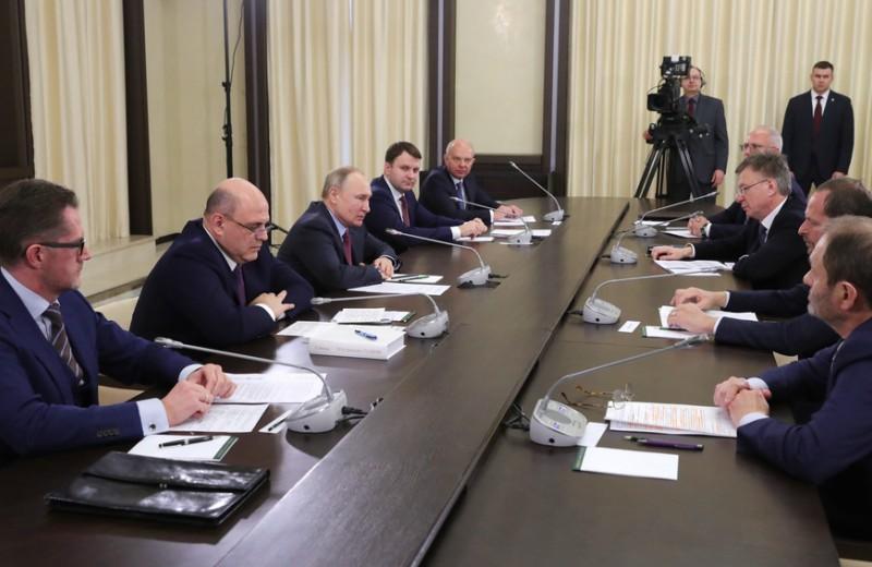 Путин обсудил с Воложем и Богуславским новое технологическое предпринимательство