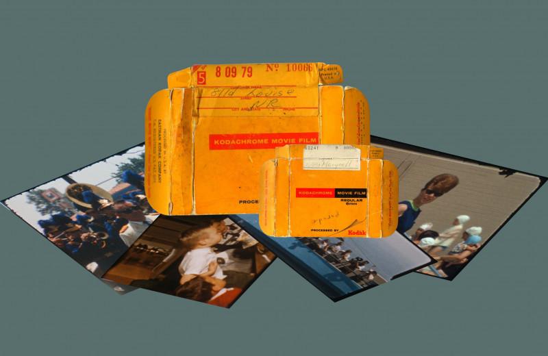 Как дизайнер покупает старые пленки и воссоздает по ним семейные истории