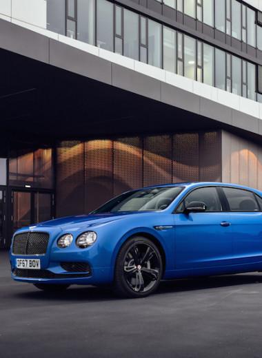 Летучий британец: тест-драйв нового Bentley Flying Spur