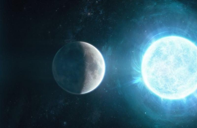 Белый карлик размером с Луну оказался массивнее Солнца