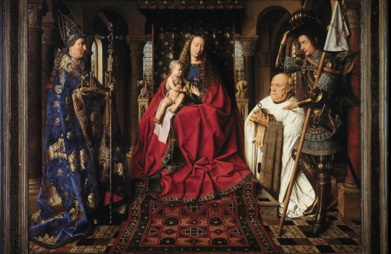 Разбор одного шедевра: «Мадонна каноника ван дер Пале» Яна ван Эйка