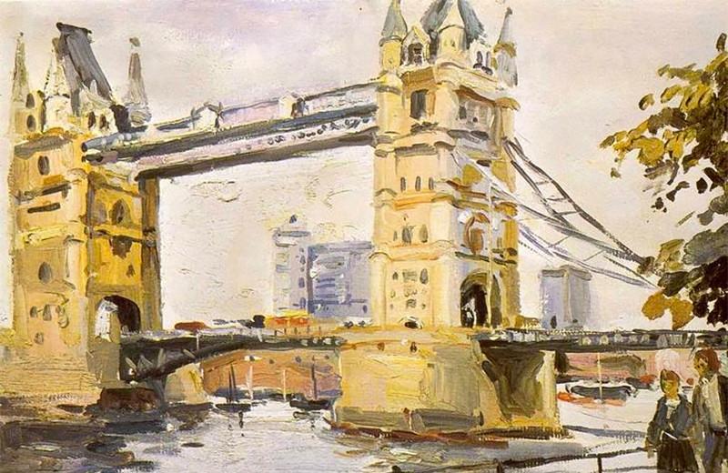 Записки путешественника:Образ Великобритании врусском искусстве