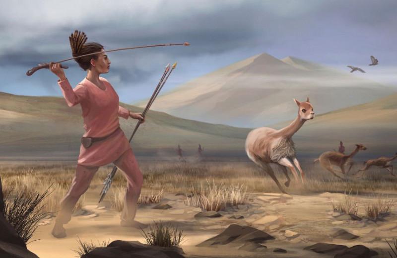 Древние женщины в Южной Америке охотились не реже мужчин