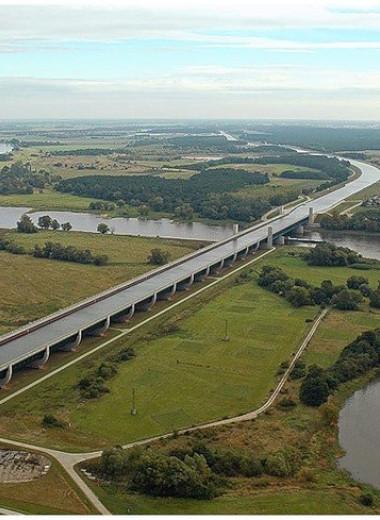 Самый длинный водный мост