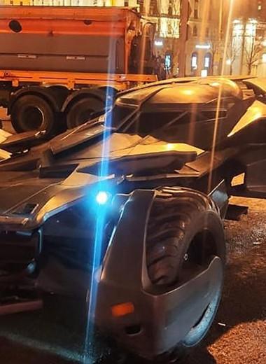 «Бэтмобиль», танк и беспилотник: странные машины, пойманные полицией