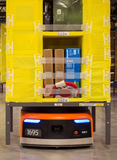 Роботизация складов Amazon привела к росту травм на 50% и усилению нагрузки на людей