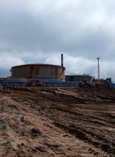 Как в Норильске устраняют последствия утечки топлива