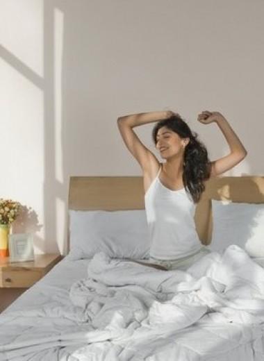 «Потягушки»: как встать с постели