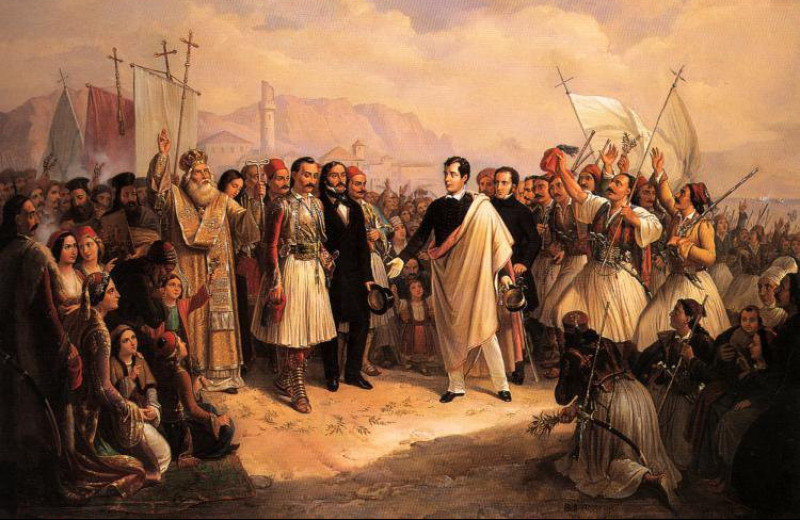 В архивах найден щедрый чек Байрона, который спас Грецию