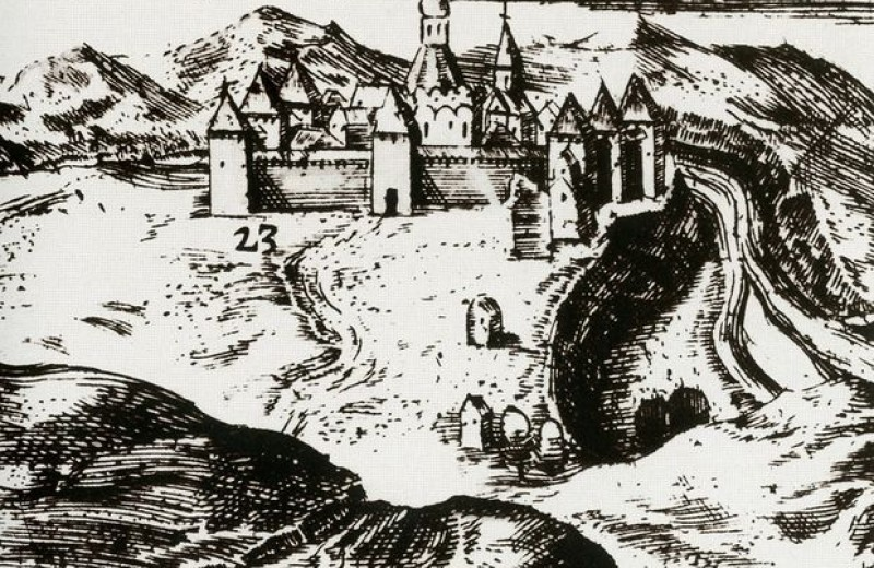 В Новодевичьем монастыре нашли остатки стен времен Годунова