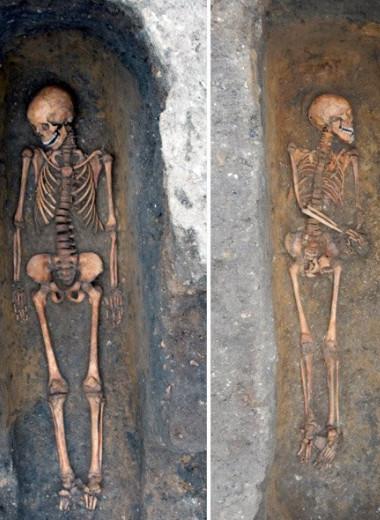 Найдены индивидуальные могилы жертв средневековой чумы