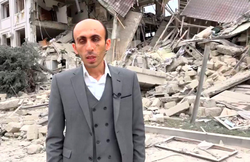 История слепого правозащитника из Карабаха