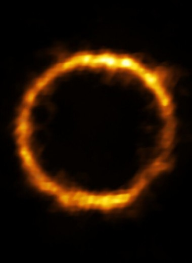 ALMA нашла неожиданно упорядоченную для ранней Вселенной галактику