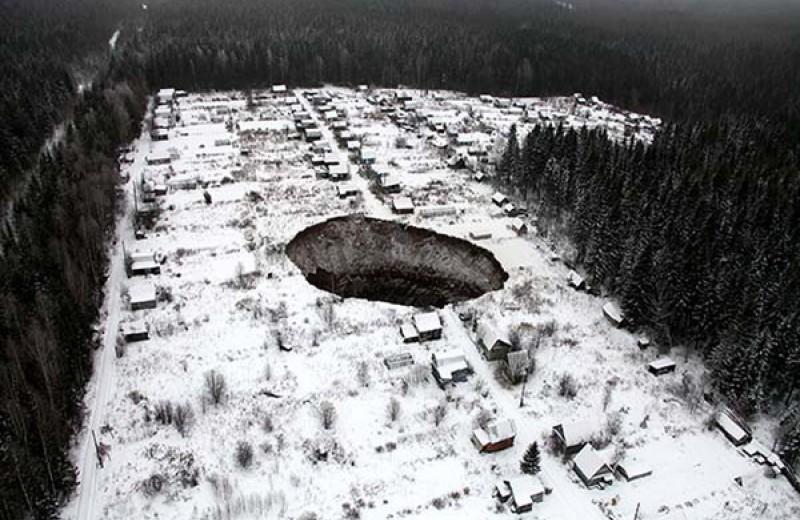 Лучше гор могут быть только дыры! 9 впечатляющих отверстий планеты