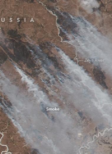 Пожары на Дальнем Востоке: горят Приморье и Амурская область