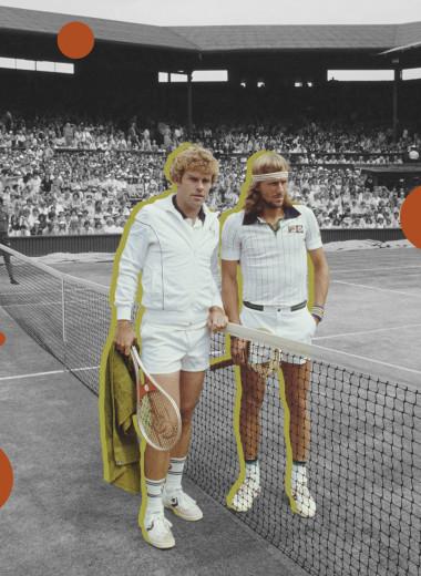 Мудборд: каким был Уимблдон и теннисисты в семидесятых