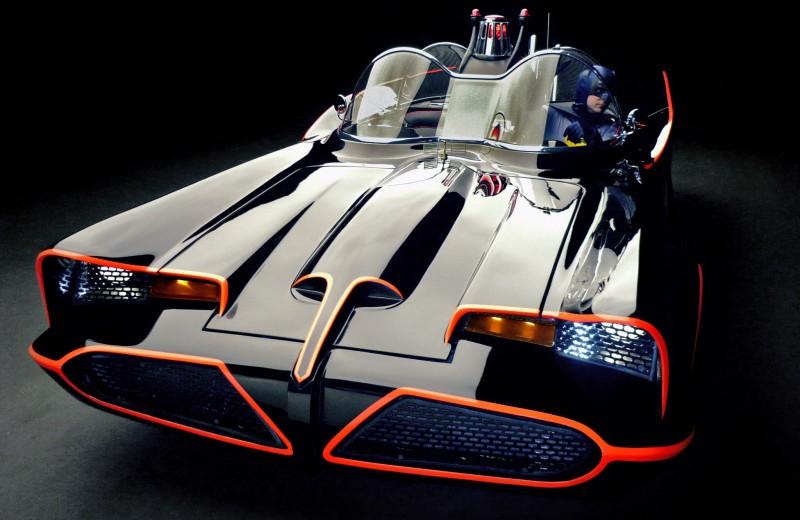 Из чего построили первый «Бэтмобиль»