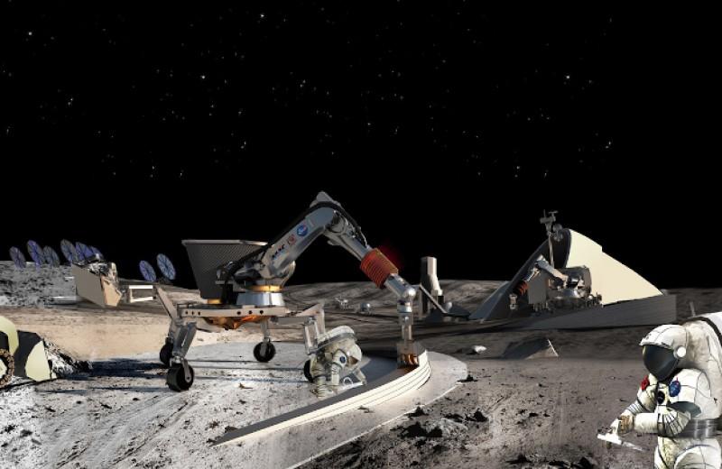 Геологическая модель поможет найти залежи водного льда на Луне