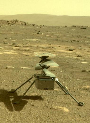 Шестой полет Ingenuity на Марсе едва не закончился аварией