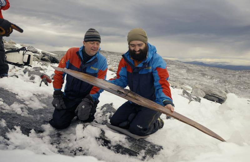 В Норвегии найдены древнейшие лыжи