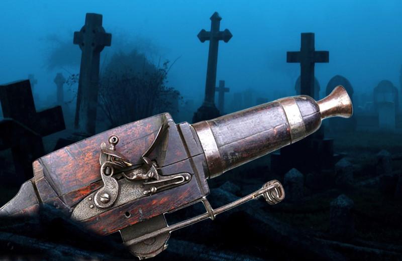 Зачем на кладбищах XVIII века ставили ружья-ловушки и мины?