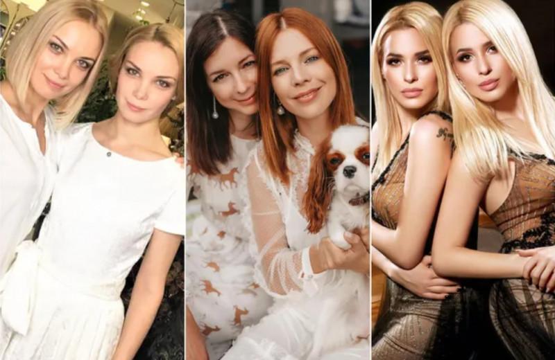 Как выглядят российские звездные сестры-близняшки: Арнтгольц, Толмачёвы и другие