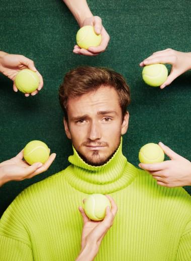 Даниил Медведеволюбви к спорту, к родине и просто о любви
