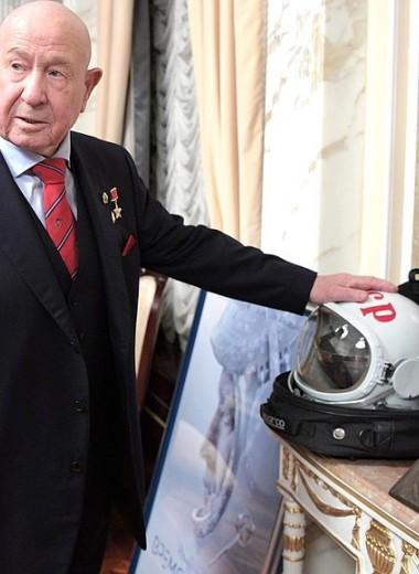 Ушел из жизни Алексей Леонов – первый человек, вышедший в открытый космос