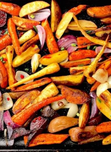 Овощи, запеченные в духовке, + 7 способов улучшить вкус привычных блюд