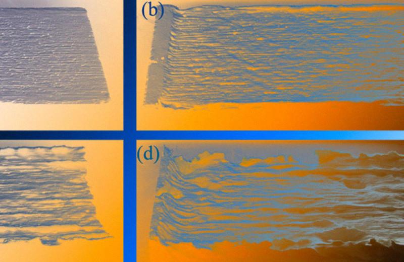 Физики объяснили появление параллельных бороздок на известняковых склонах