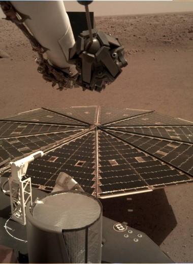 Впервые в истории записан шум ветра на Марсе