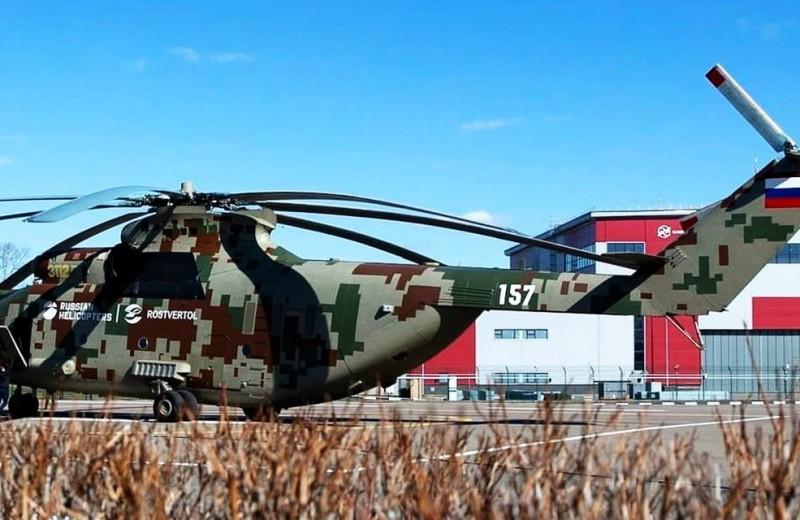 Иду по приборам: первый серийный вертолет Ми-26Т2В