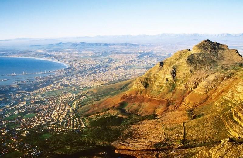 Кейптаун — самая южная точка Африки