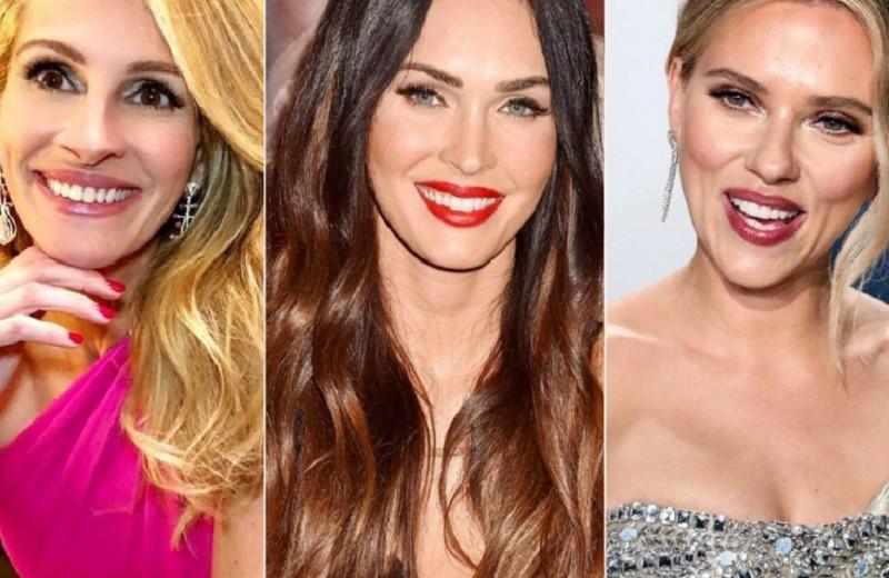 Любимые мужчины самых красивых актрис мира: Джулии Робертс, Меган Фокс и других