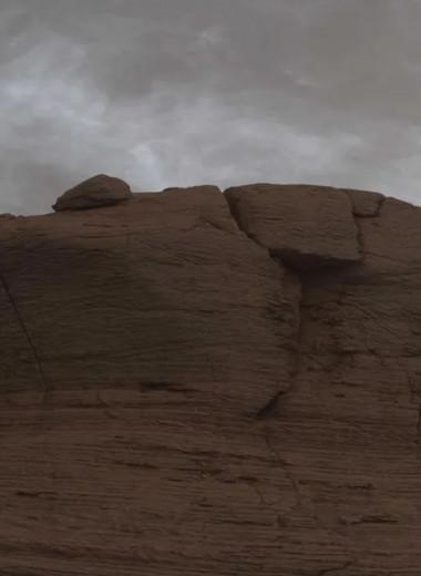 Curiosity запечатлел облака в марсианском небе