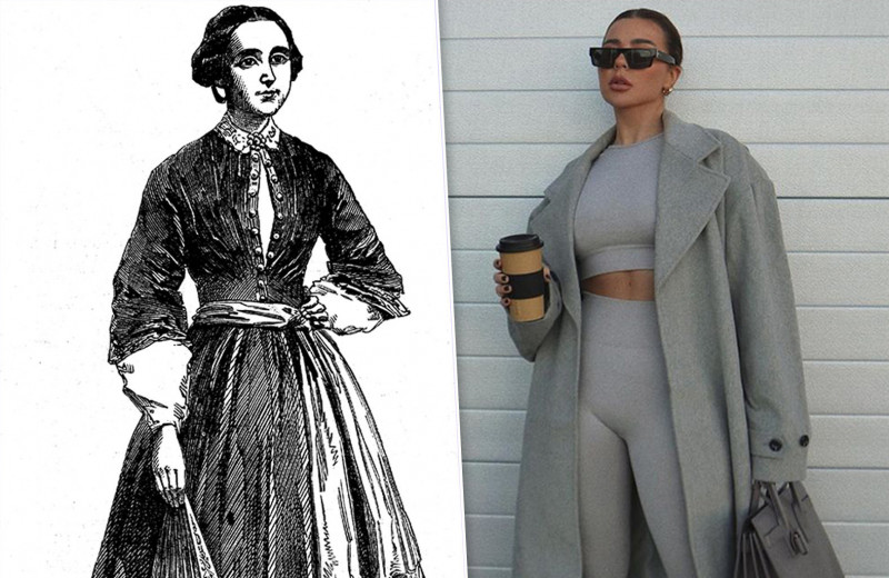 От шаровар к легинсам: в чем женщины занимались спортом раньше и в чем сейчас