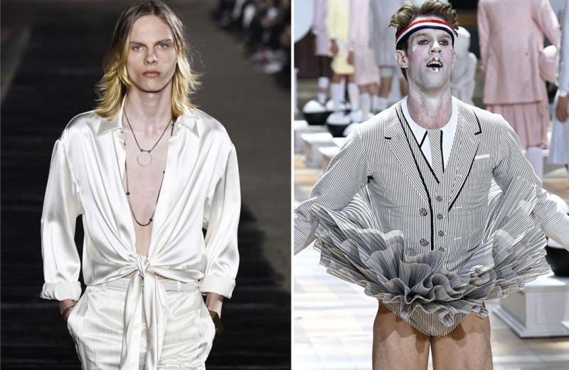 В мужскую моду вернулся секс