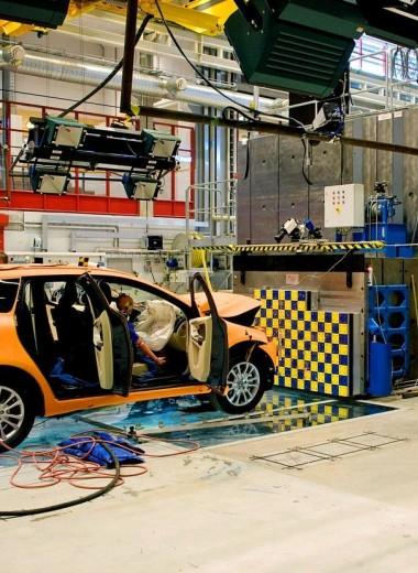 Как компания Volvo проводит краш-тесты